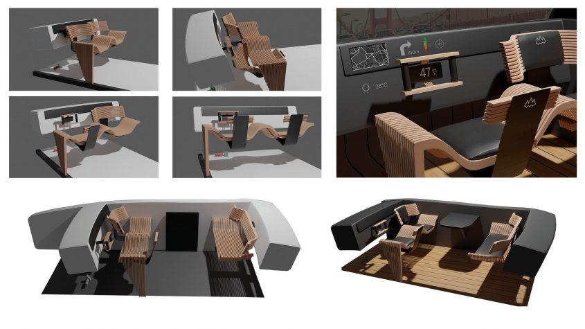 3D-mallinnuksia ajoneuvosta